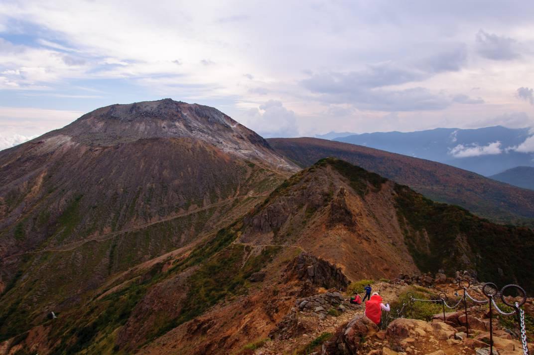茶臼岳 ~紅葉に染まる名山~