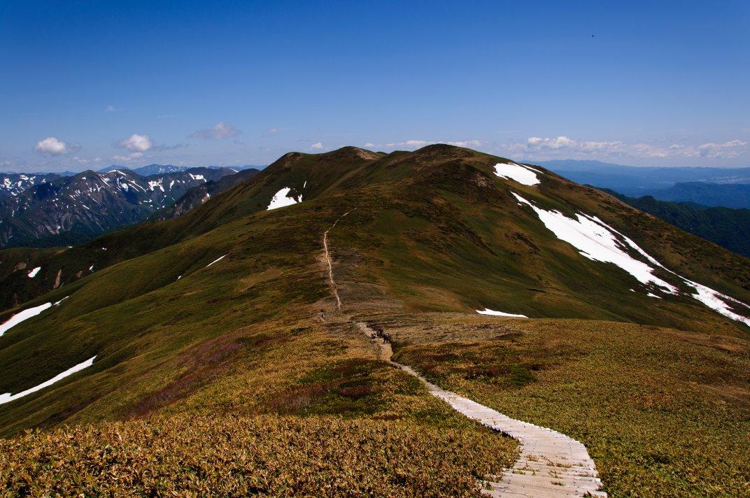 松手山&平標山 ~爽快な稜線歩き~