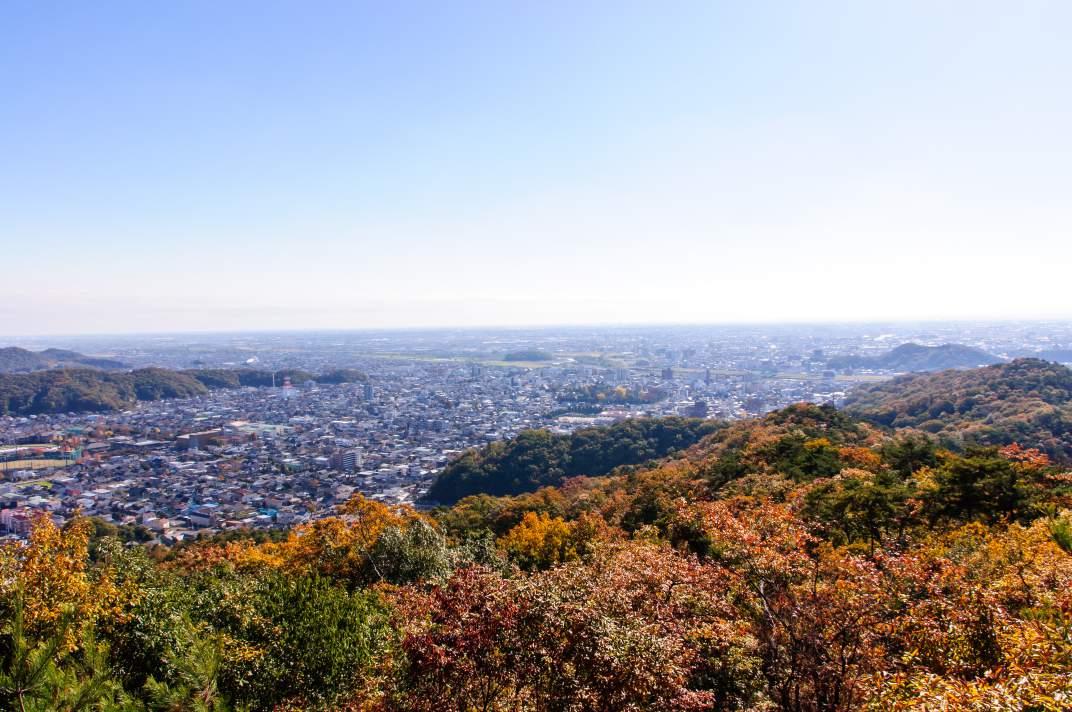 行道山・両崖山 ~足利の名山ハイクと見事な紅葉~