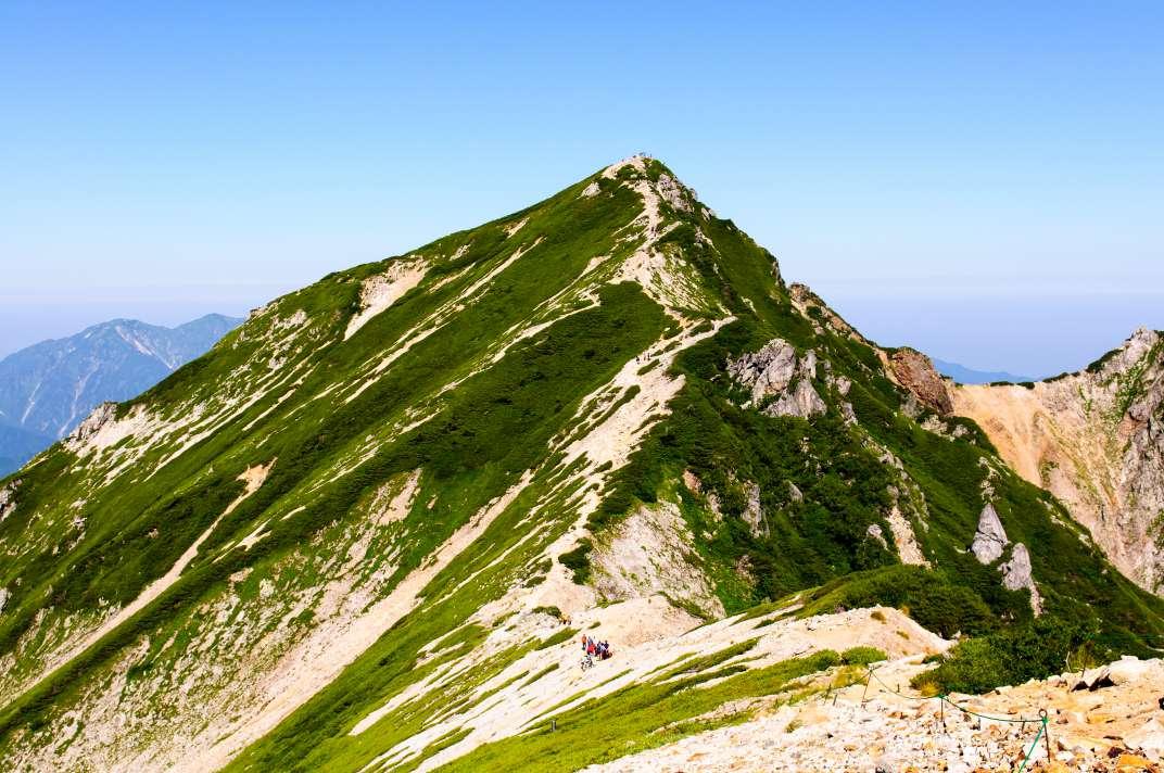 唐松岳 ~後立山の秀峰は見事な展望台~